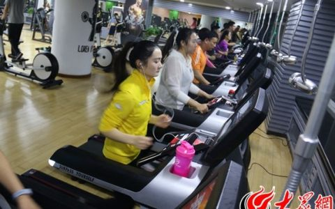 菏泽一阳健身中心助力运动达人评选 入选即送年卡