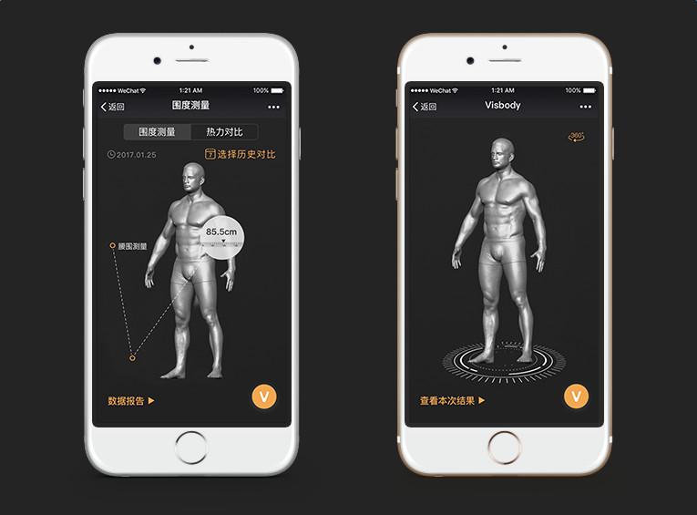 从3D光学扫描建模切入追踪人体体型:维塑会是健身房体测仪的革新者吗?