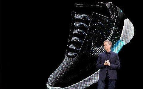 耐克发布自动系鞋带运动鞋 号称堪比无人车