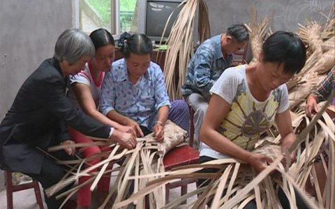 夹江县举办竹编工艺品技能培训班 助力精准脱贫