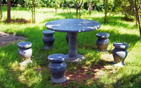 公园、庭院的石桌凳如何布局才合理?
