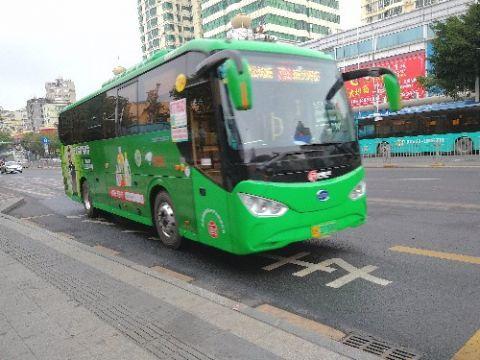 大年初一深圳的各大公交车均正常运营终于可以随意选择座位喽