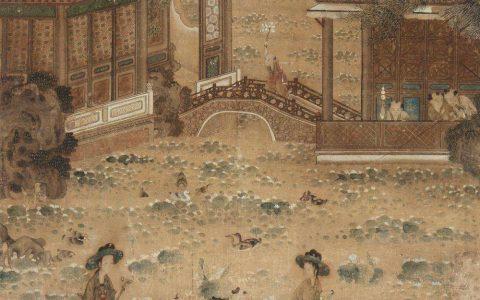 中国古字画一枝独秀金融风暴中依然坚挺!