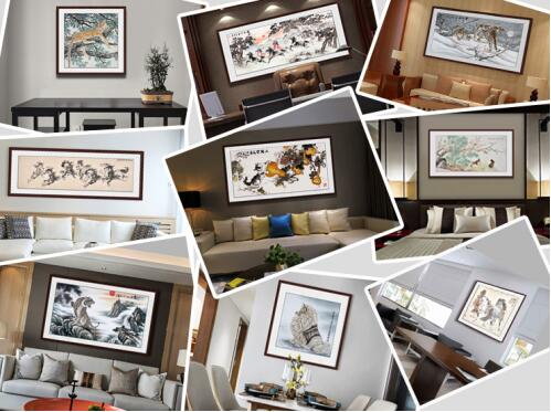 室内装饰挂什么画好 易从网名家字画最有品位