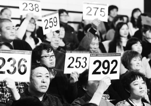 济南育婴师月嫂服务权竞拍 最高拍出15500元