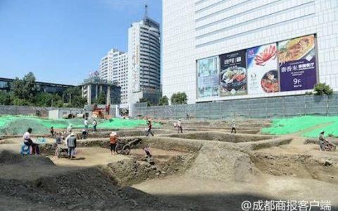 成都又现街坊遗址 与江南馆遗址连成一片
